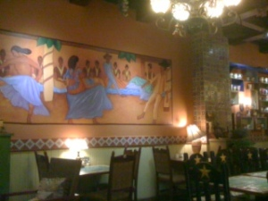 Wall decor at Pete's Tex-Mex