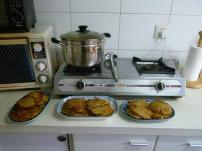 The finished latke product